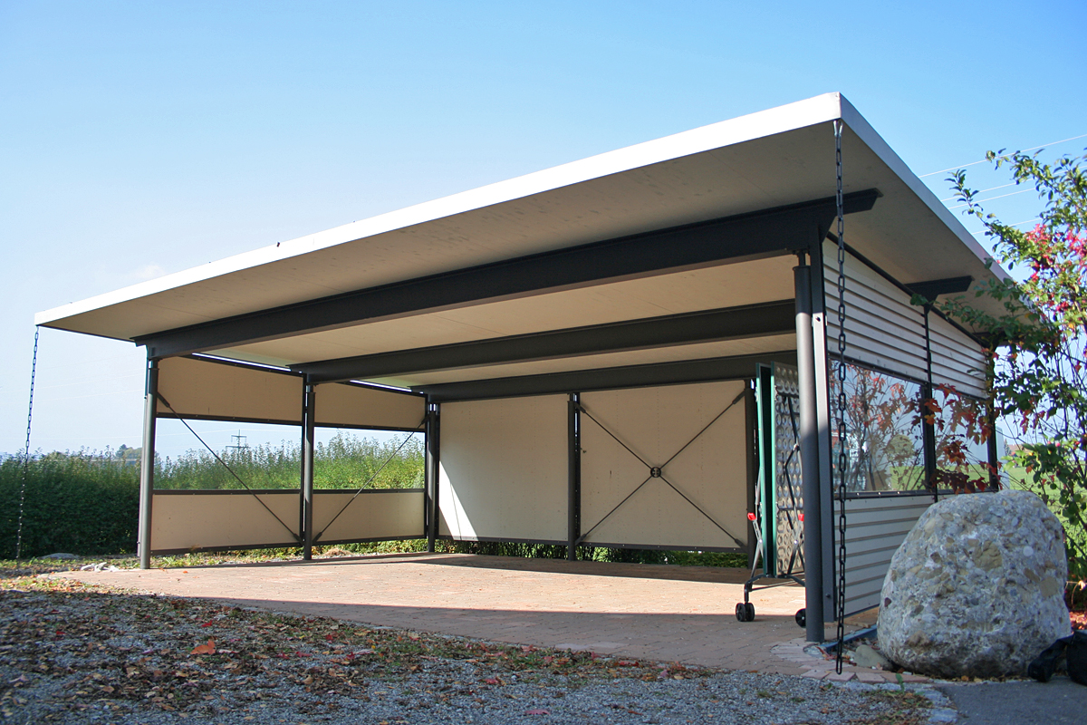 glas carport latest complete aluminium carport boog with glas carport carport gro aus metall. Black Bedroom Furniture Sets. Home Design Ideas